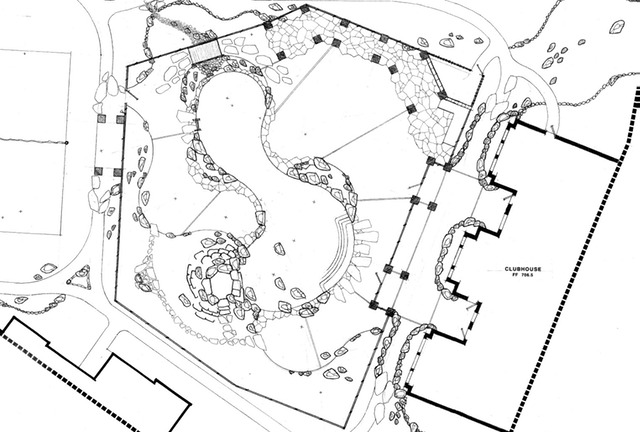 Swimming Pool Hardscape Layout Plan For L Connelly LLC